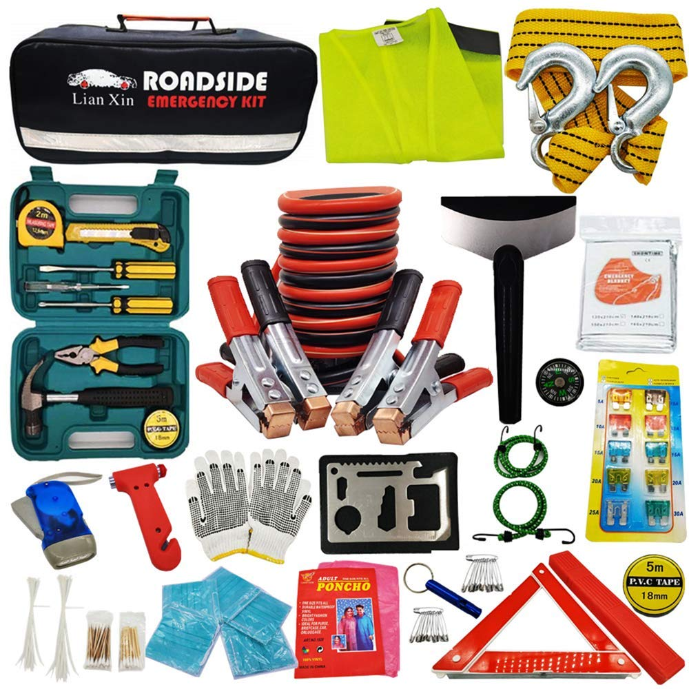 Roadside Assistance Emergency Kit Multipurpose