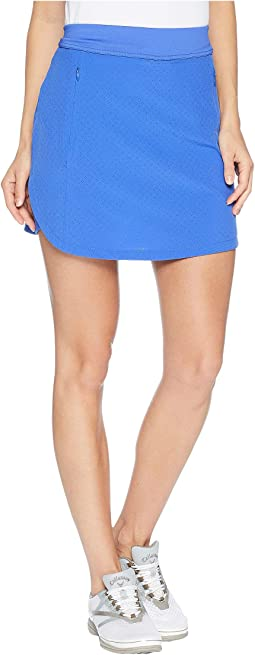"17"" Fast Track Perforated Skort"