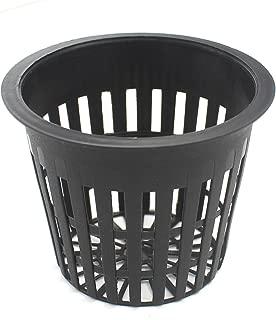 HAZOULEN Garden Plastic Net Cups Pots, 3 Inch, Set of 15