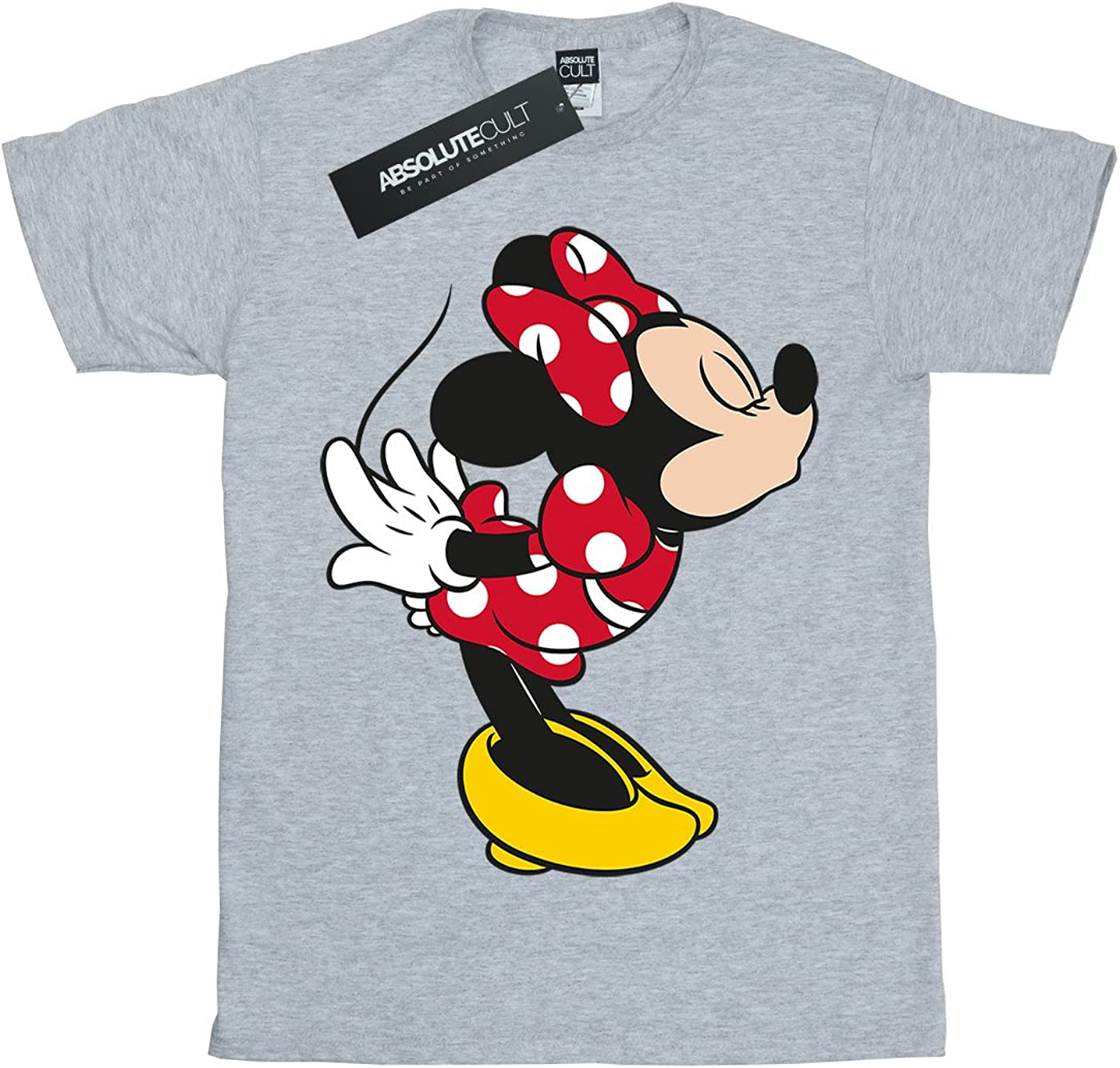 Disney Girls Minnie Mouse Split Kiss T-Shirt