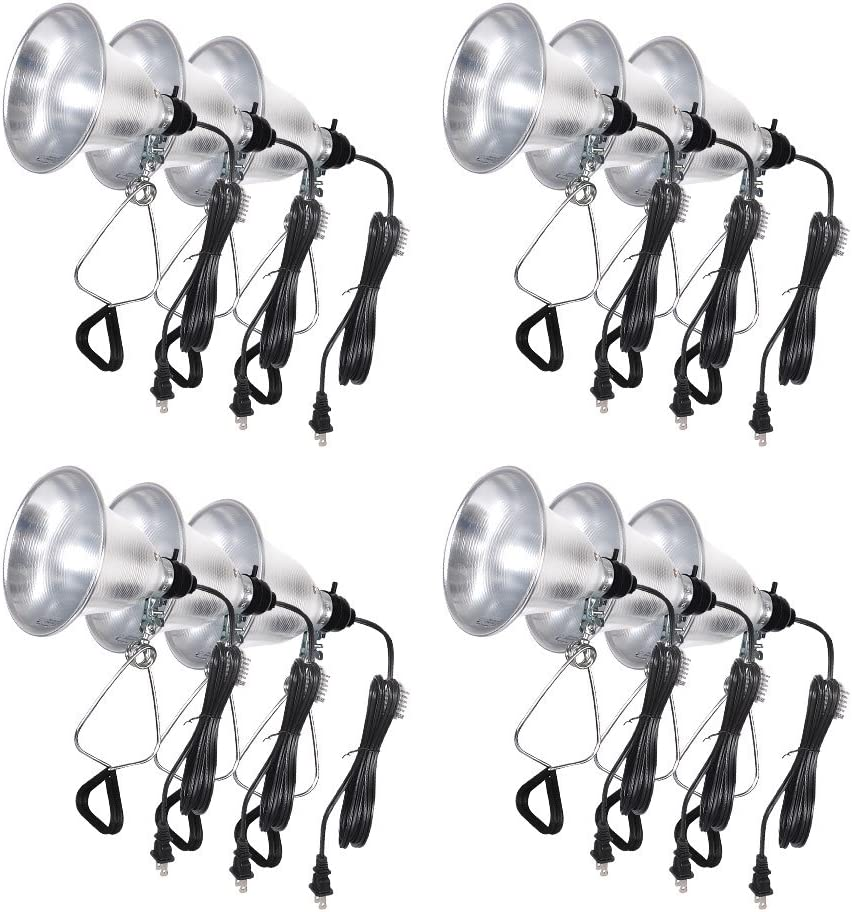 Ranking TOP16 Super beauty product restock quality top Simple Deluxe HIWKLTCLAMPLIGHTSX12 12-Pack Lamp Light Clamp with