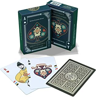 OHTWO Republic Korean Traditional Playing Cards - Poker Cards Inspired by Korean History