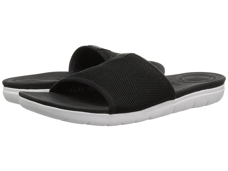FitFlop Uberknit Slide Sandals (Black) Women