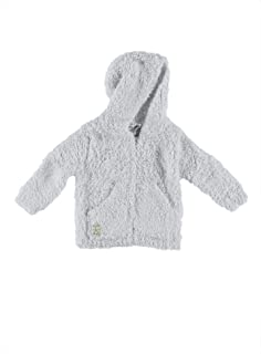 (Small, Blue) - Barefoot Dreams CozyChic Infant Hoodie