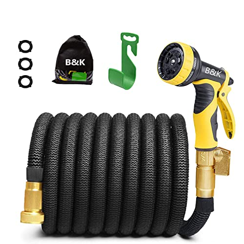 Steelman 50041-WMQ 25-Foot Coil Hose with Reusable Quick Disconnect Fittings