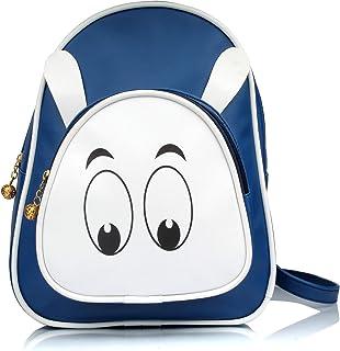 Mammon Women's Pink Girl's Backpack Handbag (BP-rabbit)