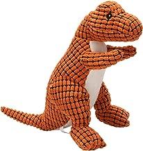 squeaky dinosaur dog toy