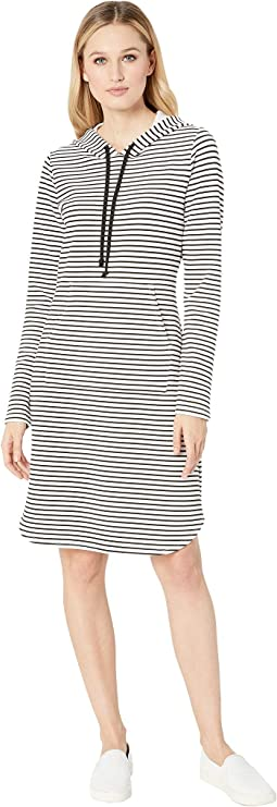 Stripe Hooded Dress
