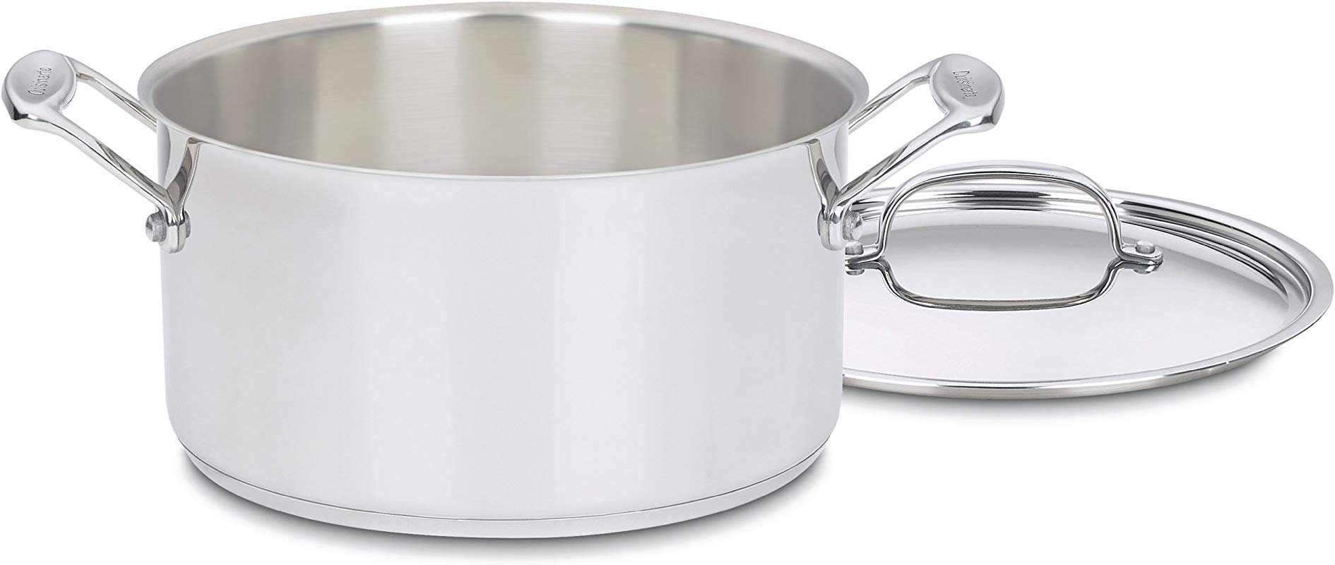 Cuisinart 744 24 Chef S Classic Stainless Stockpot With Cover 6 Quart