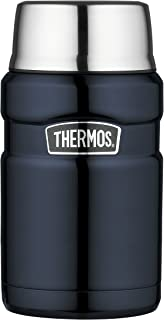 Thermos Stainless King Vacuum Insulated Food Jar, 710ml, Midnight Blue, SK3020MBAUS