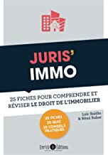 Livres Juris' Immo : 25 fiches pour comprendre et réviser le droit immobilier PDF