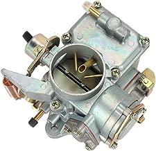 Car Carburetor for VW Beetles, ALAVENTE 34 Pict-3 Garage Carburetor for VW Beetles Super Beetles Dual Port 1971-1979 | 1600cc Engine 113129031K 98-1289-B Karmann Bug Bus Thing Ghia Squareback Transpor