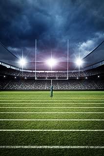 Football Field Goal Uprights Stadium Dramatic Enhanced Photo Cool Huge Large Giant Poster Art 36x54