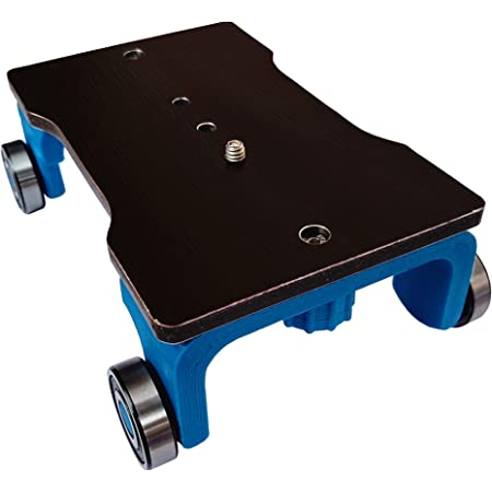 Easydolly Camera Slider Cart Dolly take Cinematic Curve and Pan Shots for DSLR