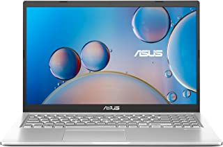 ASUS VivoBook 15 X515JA-EJ190T Laptop (Transparent Silver) – 2 Core Intel Core i3-1005G1 Processor 1.2 GHz, 4GB RAM, 512GB...
