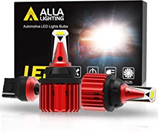 Alla Lighting Xtreme Super Bright T20 7441 7440 LED Bulbs Back-up Reverse Lights 3000 Lumens CANBUS Error Free SMD W21W 74...