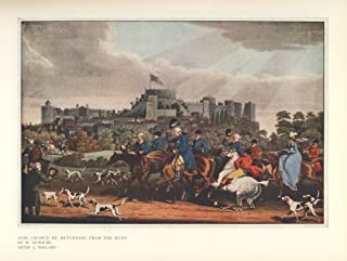 Sporting Prints 1927 George III returning from hunt Poster Print by James Pollard (24 x 36)