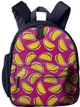 Pinta Soft Taco Cub Cool School Book Bag Backpacks for Girl's Boy's