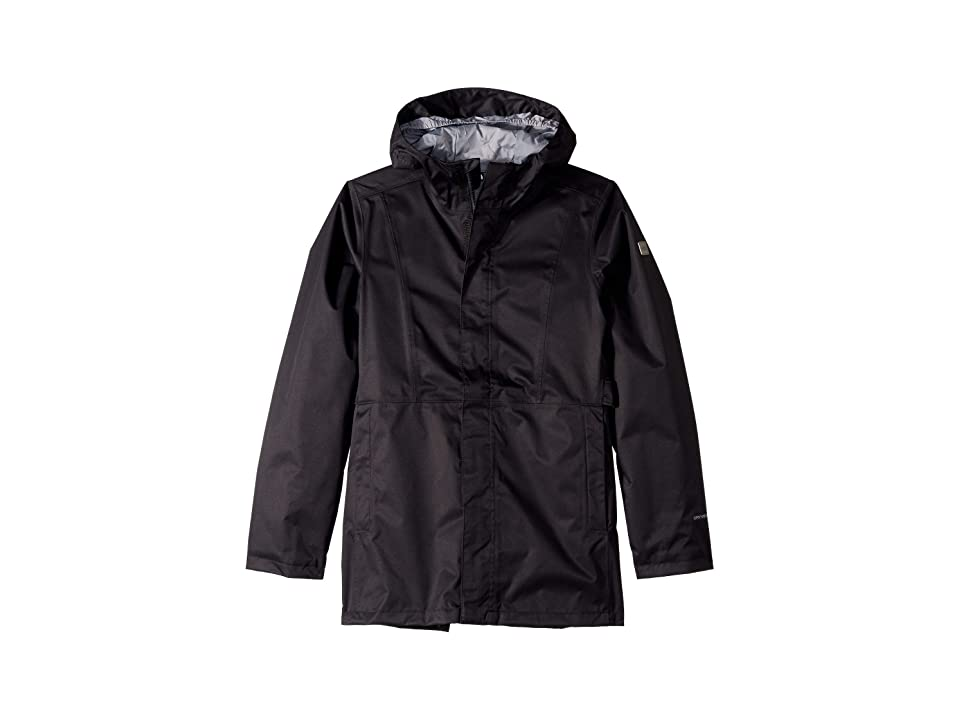 The North Face Kids Laney Rain Jacket (Little Kids/Big Kids) (TNF Black) Girl