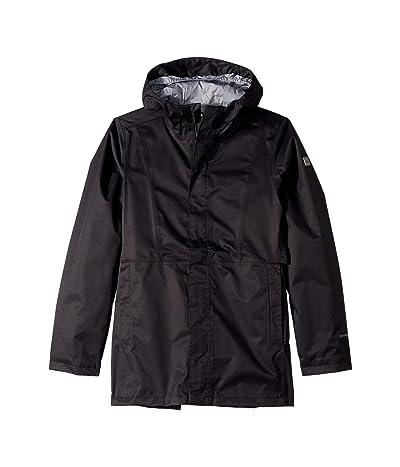 The North Face Kids Laney Rain Jacket (Little Kids/Big Kids) (TNF Black) Girl