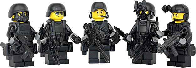 Modern Brick Warfare Special Forces Squad US Military Soldiers Custom Minifigure