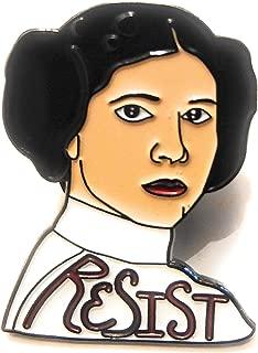 Princess Leia Resist Enamel Pin