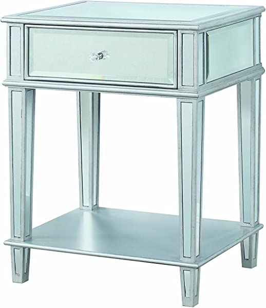 Coaster 904014 CO Accent Table Clear Mirror