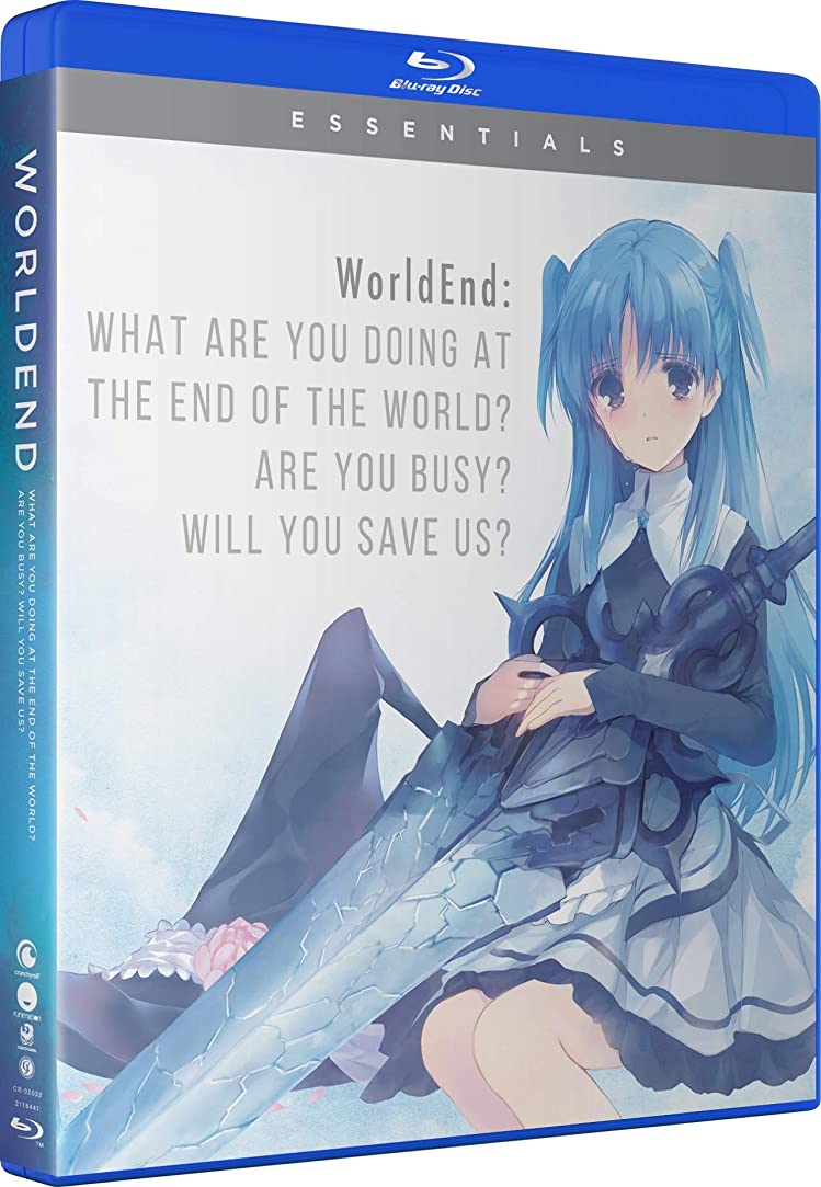 Worldend: What Are You Doing At The End Of The World? Are You Busy?Will You Save Us?: The Complete Series [Blu-ray]