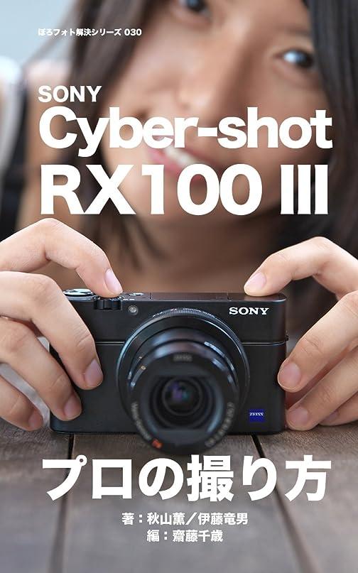 シリアル詩焼くぼろフォト解決シリーズ030 SONY Cyber-shot RX100 III プロの撮り方