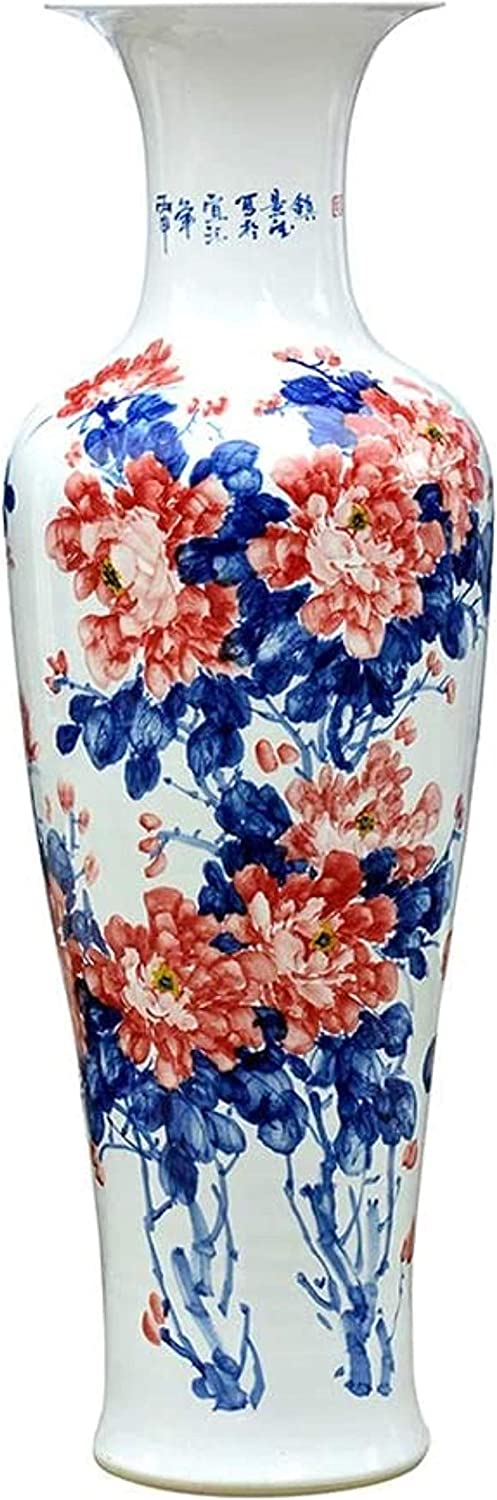 Vase Ceramic Floor Standing Large Cheap sale Deco Classical Dry Flowers Max 56% OFF for