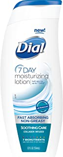 Dial Moisturizing Lotion, Soothing Care, 12 Ounces