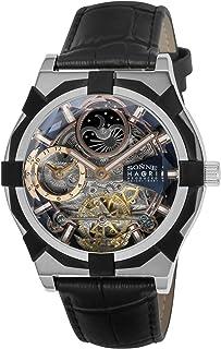 [ゾンネ]SONNE 腕時計 H019 ブラック文字盤 自動巻き H019SS-BK メンズ 【正規輸入品】