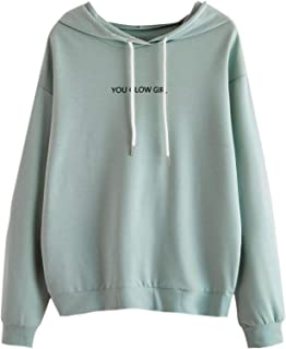 Amazon.com: Women's Fashion Hoodies & Sweatshirts - SheIn / Fashion Hoodies  & Sweatshirts / ...: Clothing, Shoes & Jewelry