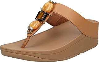 FitFlop Fino Marble Gem Toe Thong Women's Sandals