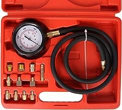 Bang4buck 12 Pieces 0-500psi TU-11A Diagnostic Test Kit Automatic Transmission Engine Oil Pressure Tester Gauge