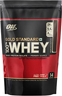 Optimum Nutrition (ON) Gold Standard 100% Whey Protein Powder - 1 lb (Double Rich Chocolate)