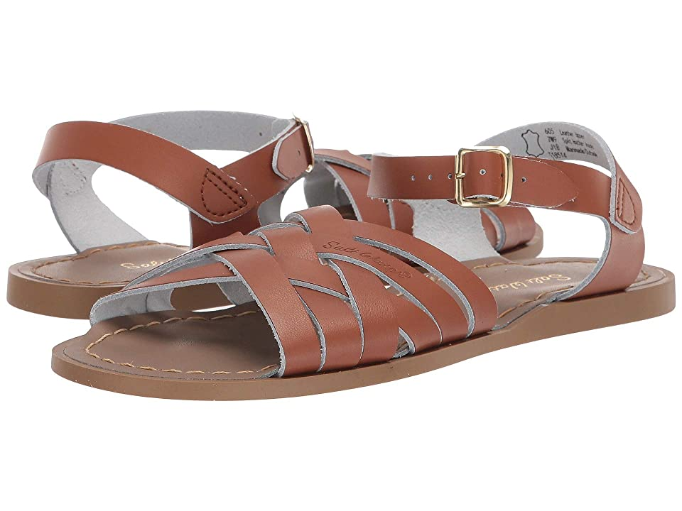 Salt Water Sandal by Hoy Shoes Retro (Big Kid/Adult) (Tan) Girls Shoes