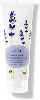 100% PURE Nourishing Body Cream, French Lavender, Body Lotion for Dry Skin, Anti-Aging, Moisturizing Cocoa Butter, Natural Body Lotion - 8 Fl Oz