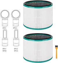 Colorfullife 2 Pack Replacement HEPA Filter for Dyson HP01, HP02, DP01 Desk Purifiers, Compatible with Dyson Pure Hot Cool Link Air Purifier Filter Replacement, Replaces Part 968125-03