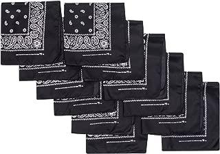 Bandana 12 Pack 21x21 100% Polyester