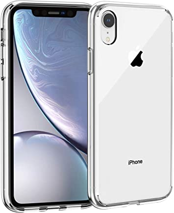 Syncwire Coque iPhone XR Transparente - UltraRock Seriés Housse Rigide iPhone XR avec Protection Anti-Chute et Technologie Avancée de Coussin d'air pour iPhone XR (2018) - Ultra Transparent