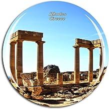 Regalo e Collezione MUYU Magnet Calamita da frigo Kos Hippocrates Grecia Decorazione per casa e Cucina Souvenir da Viaggio Adesivo Magnetico Kos Hippocrates Grecia