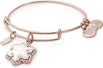 gold snowflake bracelet