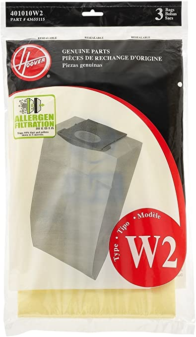 Generic Hoover WindTunnel 2 W2 Vacuum Bags part no # 401010W2
