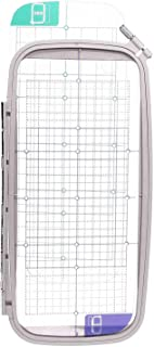 SA445 12 x 5 inch Jumbo Embroidery Hoop w/Placement Grids for Brother DZ820E PE700II, PE-750D, PE-770, PE-780D, Innovis 1000, Innovis 1200, Innovis 1250D, PC-6500, PC-8200, PC-8500 Babylock Ellure