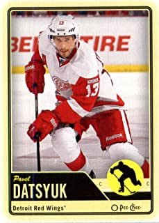 2012 /13 Upper Deck O Pee Chee #184 Pavel Datsyuk NHL Hockey Card