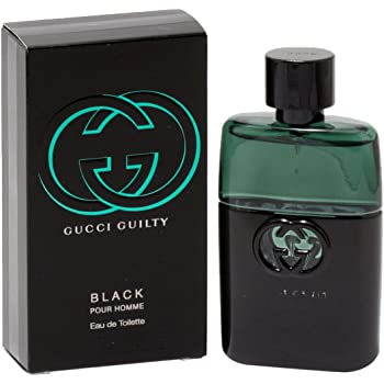 Gucci Guilty Black For Men Edt Spray 1.7 Oz