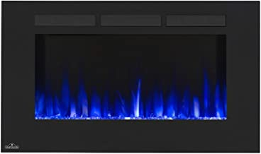 Napoleon NEFL42FH Allure Series Linear Slimline Wall Mount/Built-In Electric Fireplace, 42 Inch