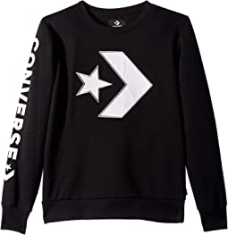 Appliqued Star Chevron Crew (Big Kids)