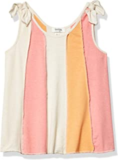 Speechless Girls' Shoulder Bow Trapeze Top
